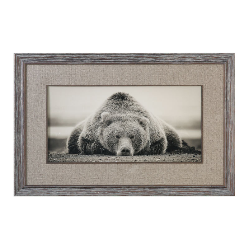 33661 Uttermost Deep Sleep Bear Print