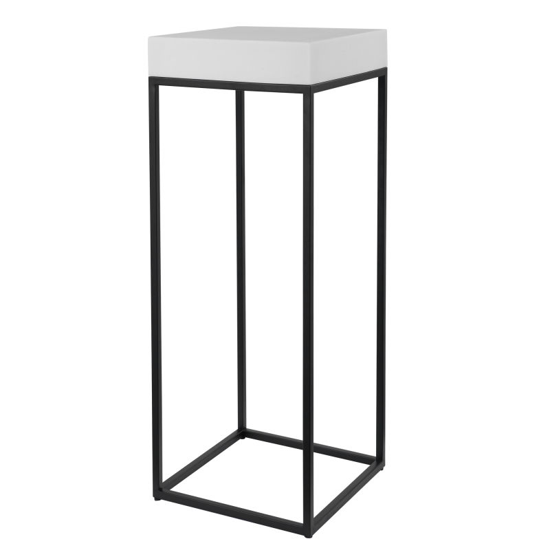 24935 Uttermost Gambia Marble Plant Stand