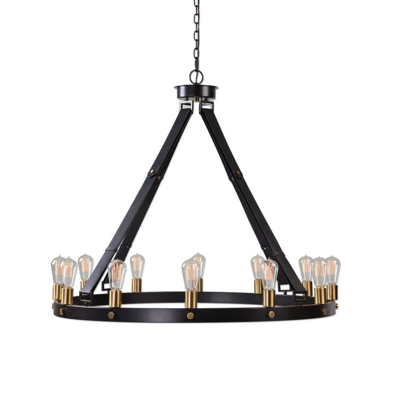 21280 Uttermost Marlow 12 Light Circle Chandelier