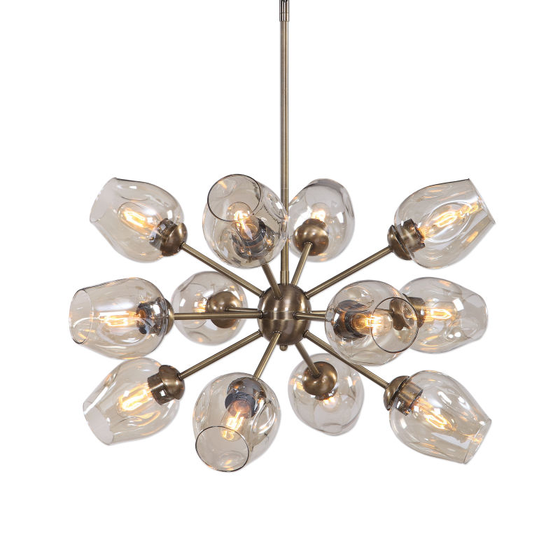 21325 Uttermost Chet 12 Light Sputnik Chandelier