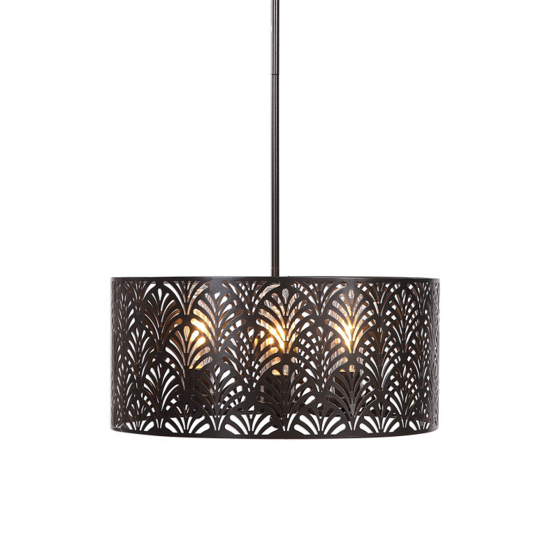 22157 Uttermost Myrtle 3 Light Outdoor Pendant