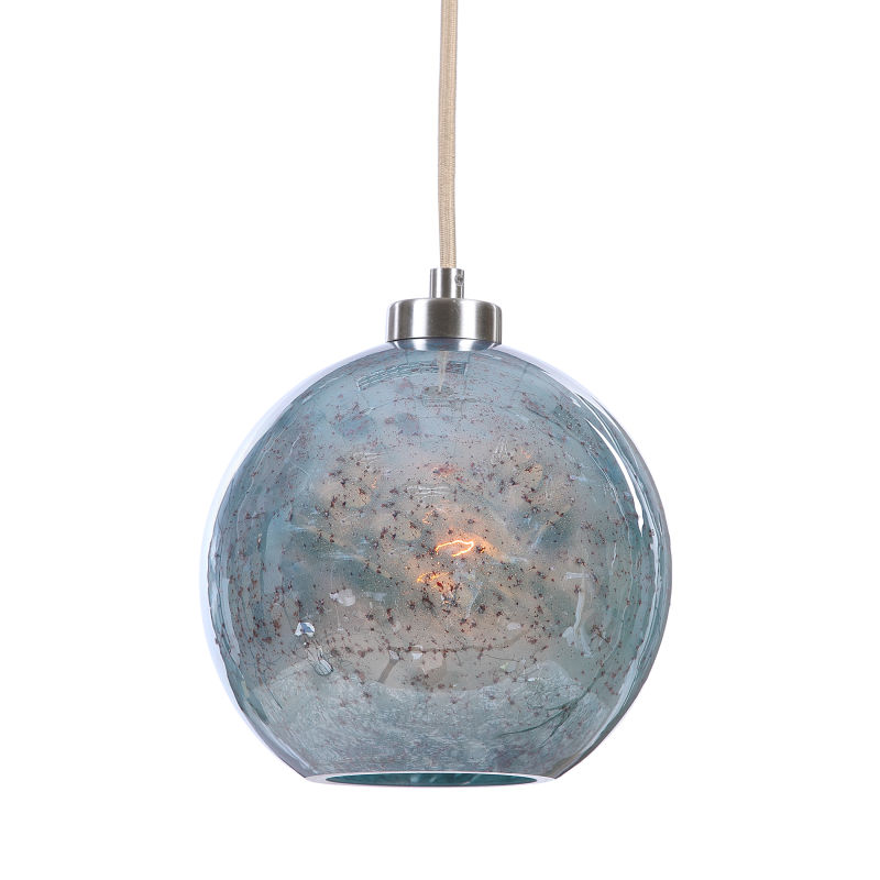22198 Uttermost Gemblue1 Light Mini Pendant