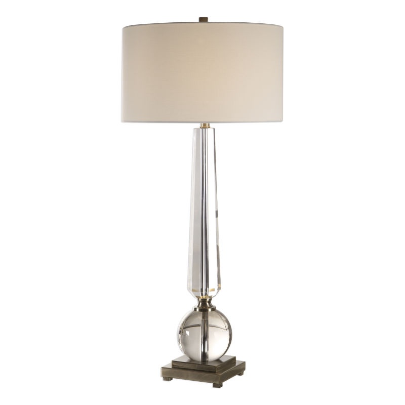 27883 Uttermost Crista Crystal Lamp
