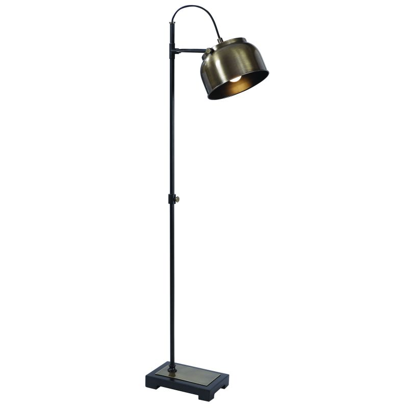 28200-1 Uttermost Bessemer Industrial Floor Lamp