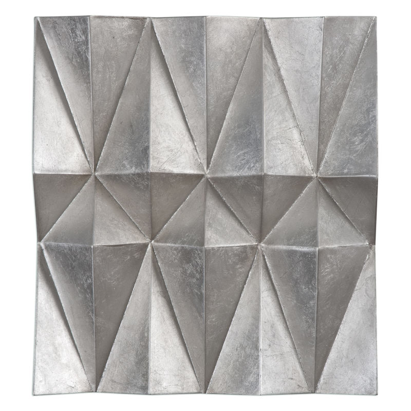 04052 Uttermost Maxton Multi-Faceted Panels S/3