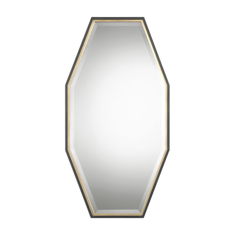Uttermost Savion Gold Octagon Mirror