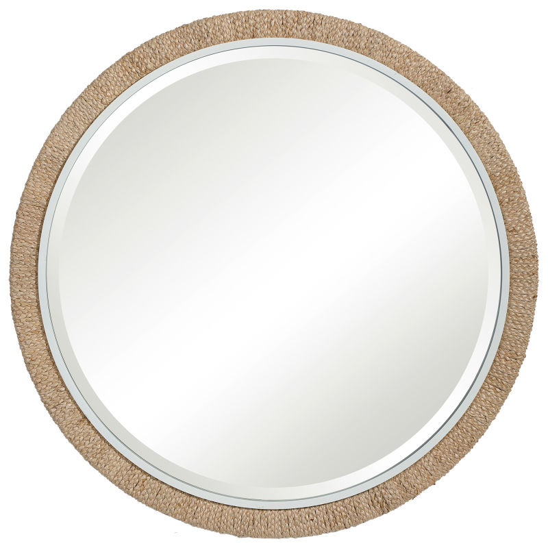 Uttermost Carbet Round Rope Mirror
